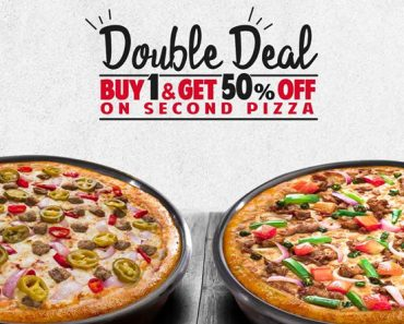Pizza Hut January 2020: Buy 1 and Get 50% OFF on Second!